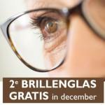 2e brillenglas graris in december
