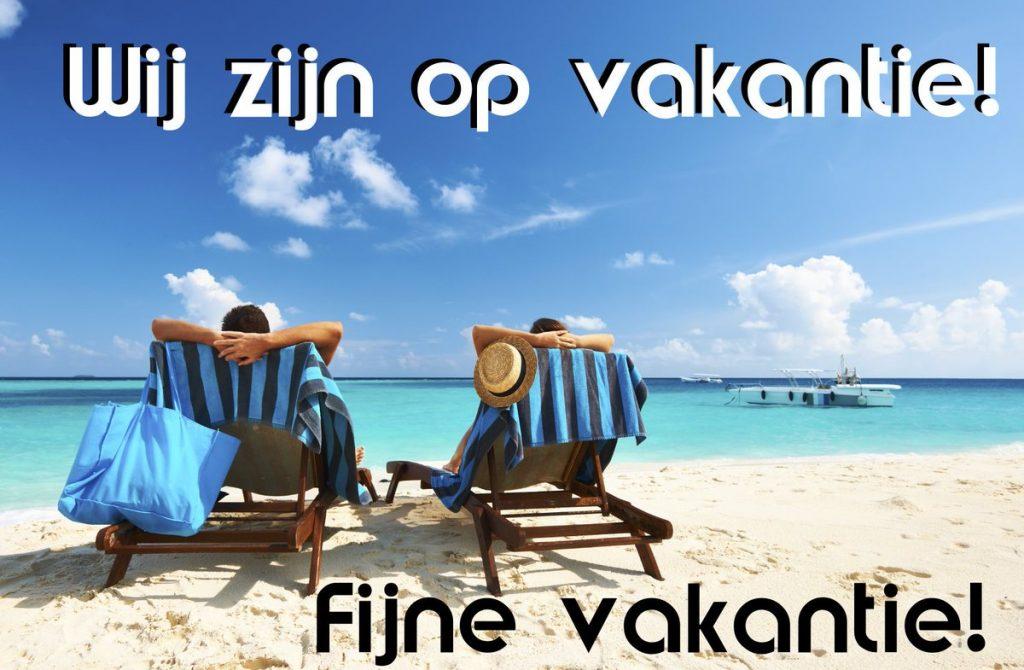 Wij zijn op vakantie! | Arends Optiek